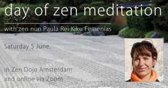 Sesshin Amsterdam led by Reidkiku at GYO KAI dojo, June 5th