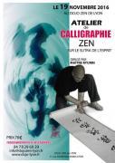 Stage de Calligraphie Zen au dojo zen de Lyon