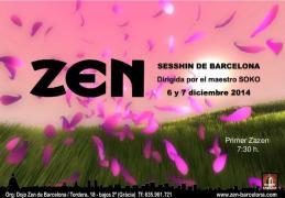 Día y medio práctica zazen Dojo Barcelona