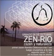NaturaleZA ZEN en Rosario- Media Jornada de meditacion Zen - Sábado 26 de octubre 2014