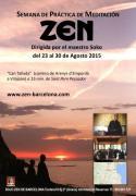 Semana zen y playa IV Dojo Zen de Barcelona