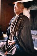 Sensei Deshimaru en posture de zazen
