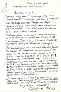 Como le va debajo del ombligo. Carta del Maestro Deshimaru a sus discipulos