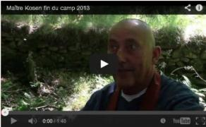 Video clips: final del campo de verano zen 2013