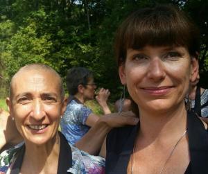 Paula et Christina, deux tenzo bien aimés de la kosen sangha.