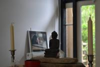 Buddha on the altar