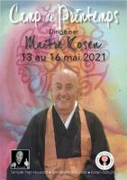 Sesshin de Printemps 2021: Zazen la méditation Zen, Temple du Caroux près de Montpellier