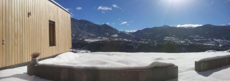 Gorges du Guil depuis le Dojo zen des Hautes Alpes - Eygliers 05