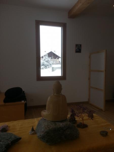 Dojo zen des Hautes Alpes par temps de neige - Eygliers 05