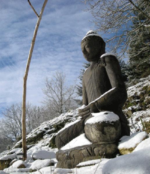 Entrée du temple Zen Yujo Nyusanji