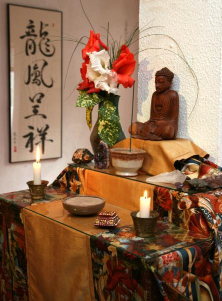 Dojo Zen de Barcelona Altar