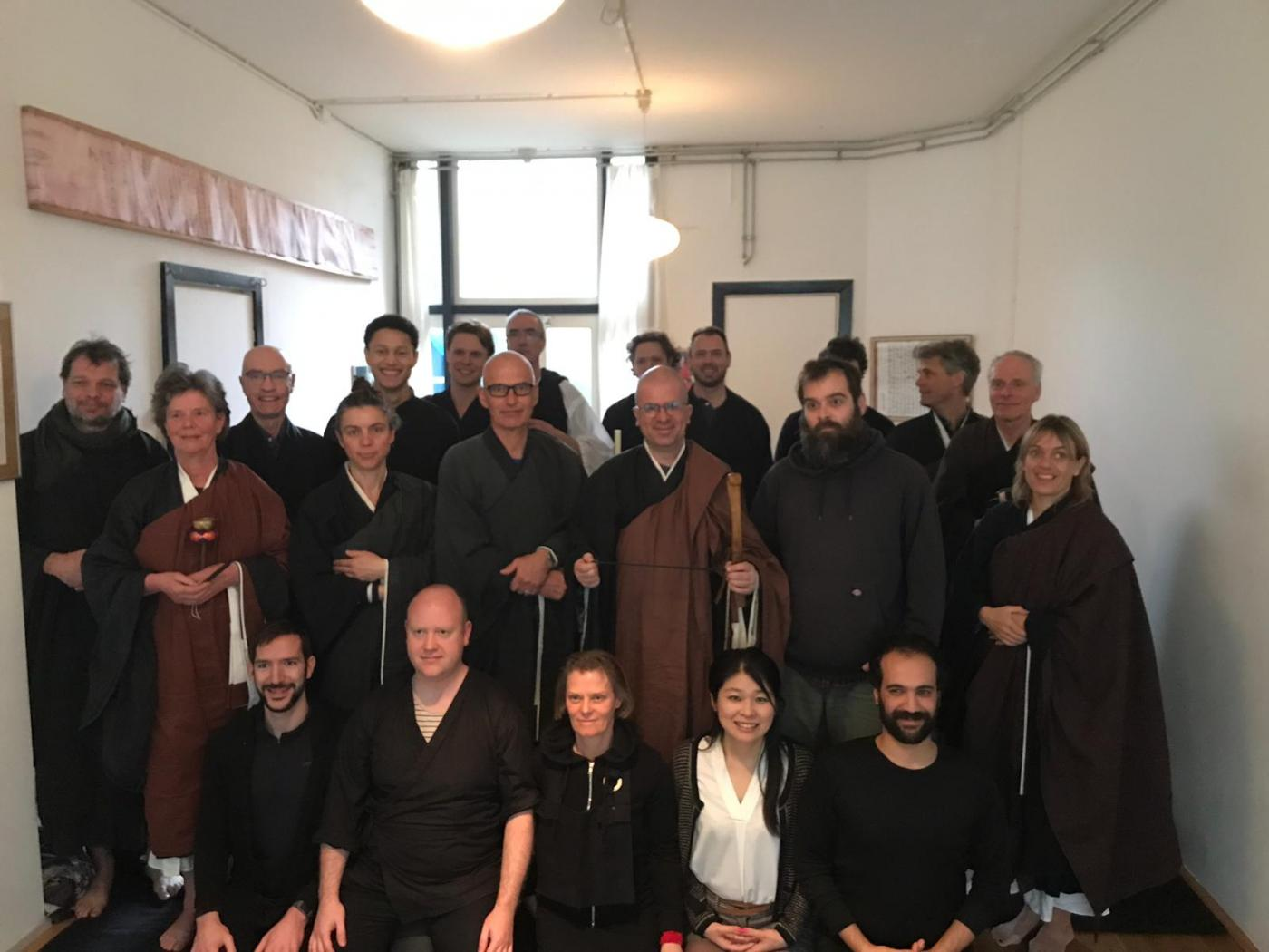 "Zen Dojo Amsterdam ""Gyo Kai"" Sesshin March 2019 with Master Ryurin"