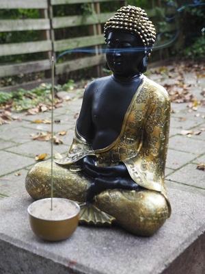 Buddha in our garden