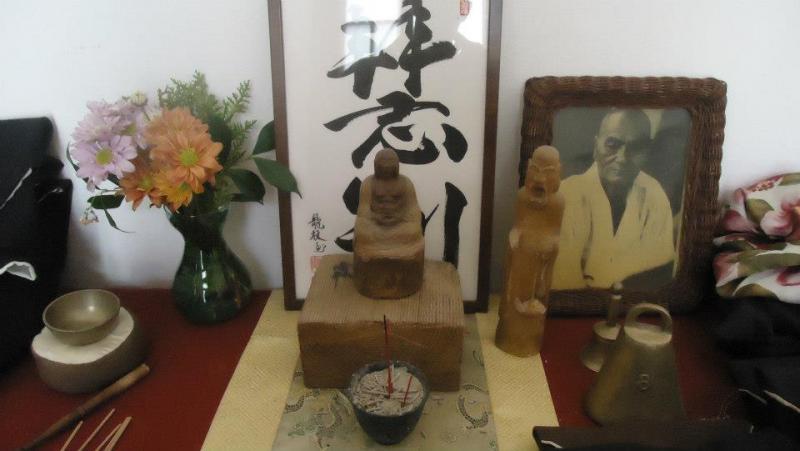 Autel du dojo Zen de Rosario, Argentine