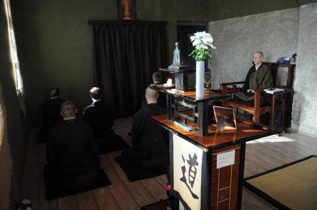 Dans le dojo de Taisen-ji