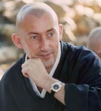 Maître Kosen Thibaut, moine zen et 83e successeur du Bouddha dans la traddition Zen Soto
