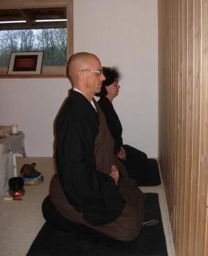 Le moine zen Richard Kosen Féret