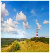 l'île d'Ameland aux Pays-Bas