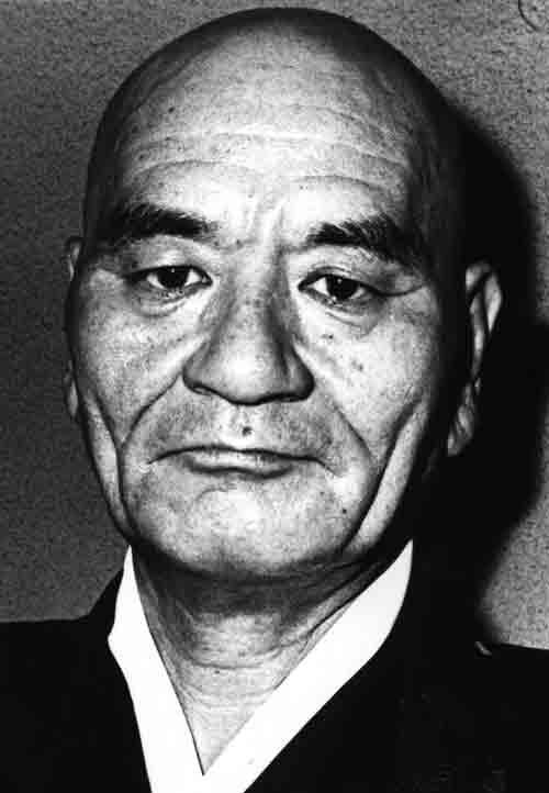 Retrato de Senseï Deshimaru