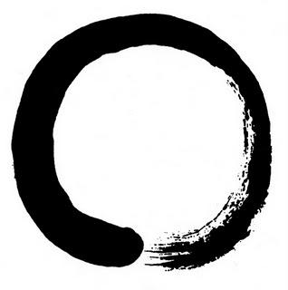 caligrafía círculo
