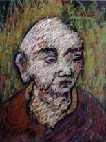 Ananda, patriarche du bouddhisme zen de la ligné de Maître Kosen