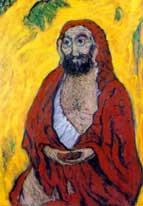 Bodhidharma, patriarche du bouddhisme zen de la ligné de Maître Kosen