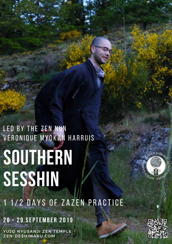 South Sesshin 2019: Zazen the méditation Zen, Caroux Temple near of Montpellier