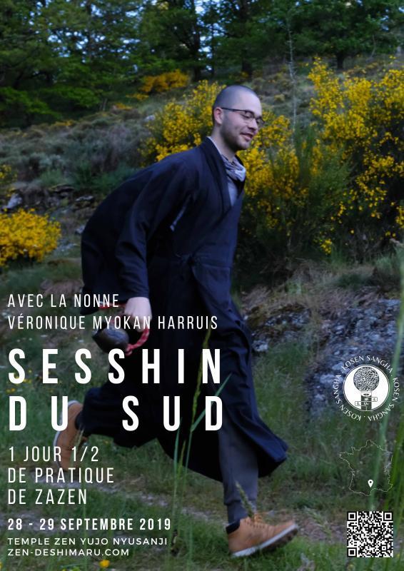 Sesshin du Sud 2019: Zazen la méditation Zen, Temple du Caroux près de Montpellier