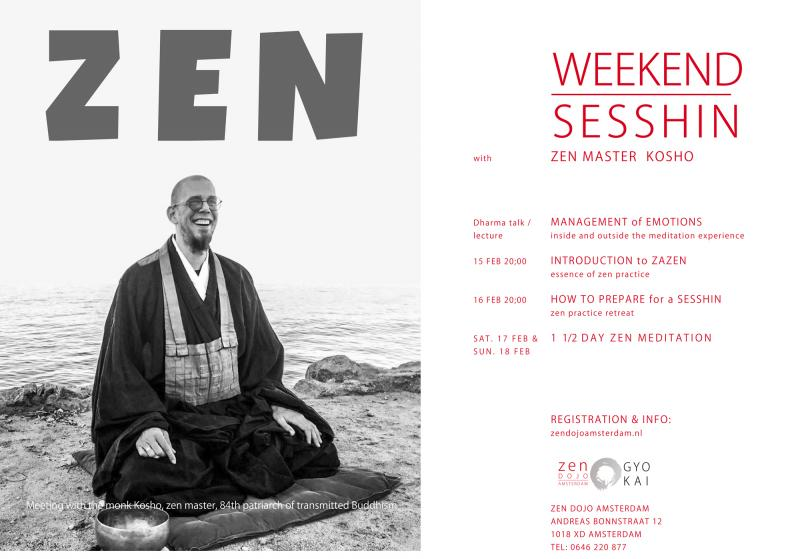 Sesshin d'Amsterdam, pratique intensive de la méditation zen