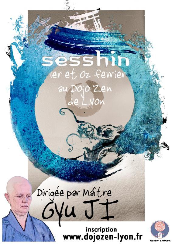 Sesshin de Lyon 2020: Zazen la méditation Zen, Dojo Zen de Lyon