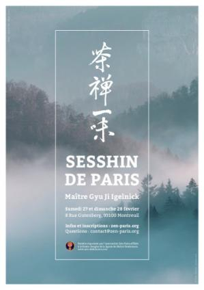 Sesshin de Paris 2016