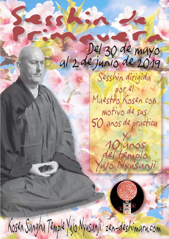 Sesshin de Primavera 2019: Zazen la méditation Zen, Templo del Caroux cerca de Montpellier