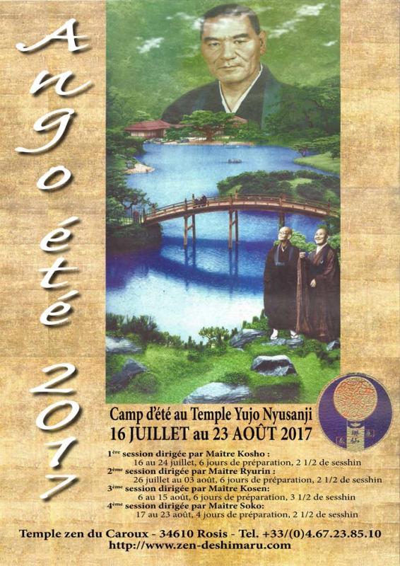 Ango : camp d'été zen : 1 mois de pratique de zazen