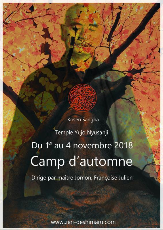 Camp d'Automne 2018, stage de méditation près de Montpellier