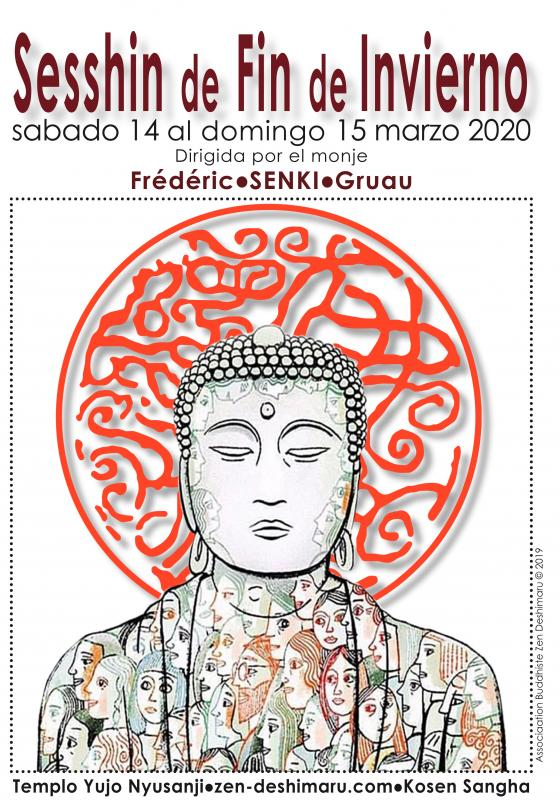 Sesshin de fin de invierno 2020: Zazen la méditation Zen, Templo del Caroux cerca de Montpellier