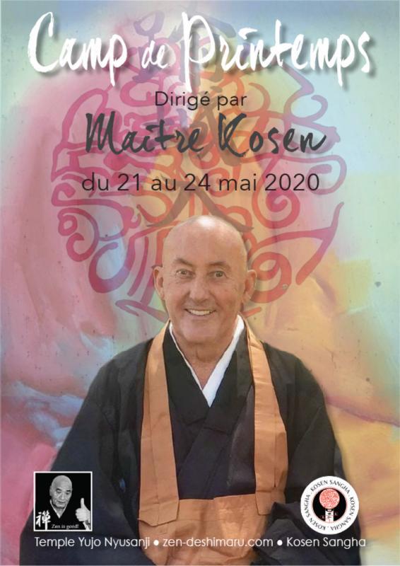 Camp de printemps 2020: Zazen la méditation Zen, Temple du Caroux près de Montpellier