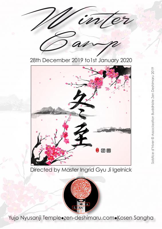 Winter camp 2019: Zazen the méditation Zen, Caroux Temple near of Montpellier