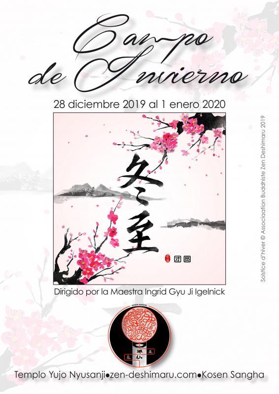 Campo de invierno 2019: Zazen la méditation Zen, Templo del Caroux cerca de Montpellier