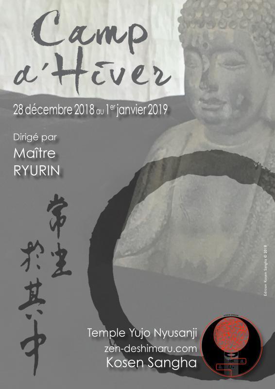 Camp d'Hiver 2018-2019, stage de méditation près de Montpellier