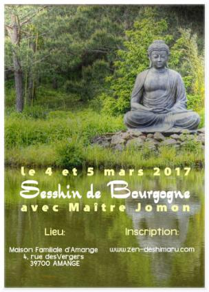 Sesshin de Bourgogne 2017