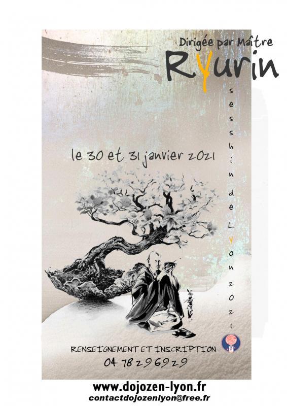 Sesshin de Lyon 2021: Zazen la méditation Zen, Dojo Zen de Lyon