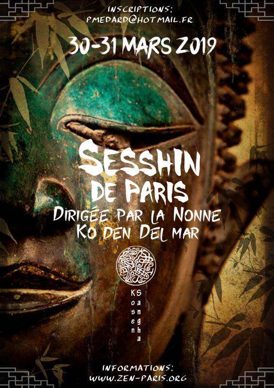 Sesshin de Paris 2019: Zazen la méditation Zen, Dojo Zen Paris Kosen Sangha