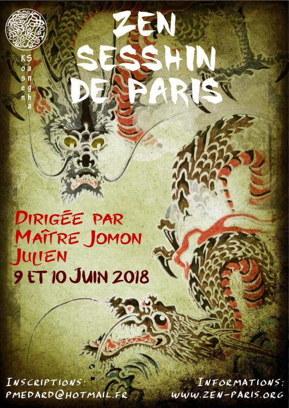 Stage de méditation de Paris 2018
