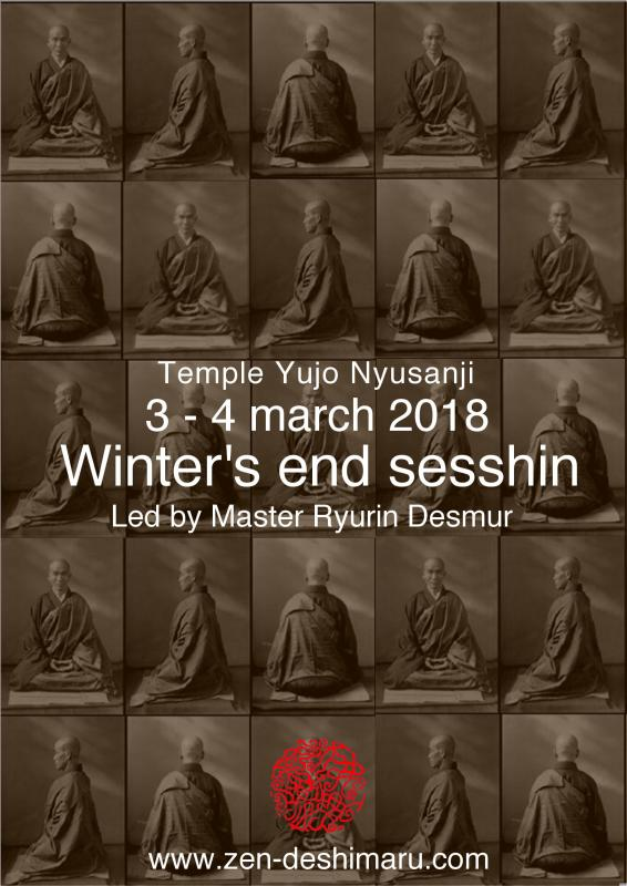 Winter's end Sesshin 2018