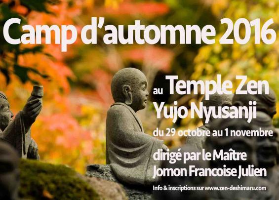 Camp d'Automne 2016