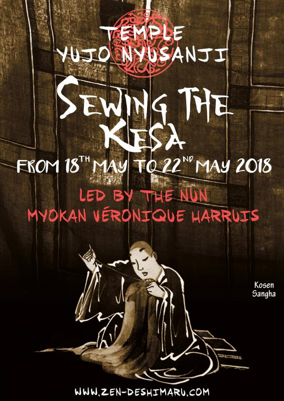Sewing the Kesa 2018