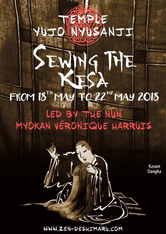 Sewing the Kesa 2018