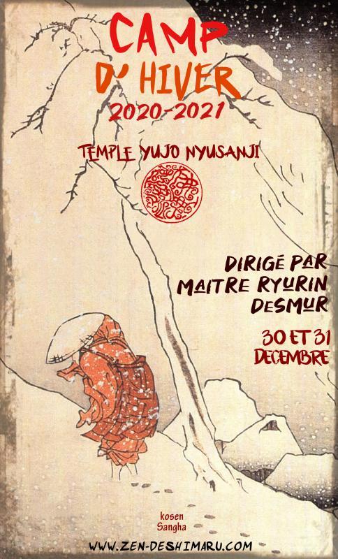 Camp d'hiver 2020: Zazen la méditation Zen, Temple du Caroux près de Montpellier