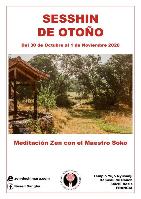 Campo de otoño 2020: Zazen la méditation Zen, Templo del Caroux cerca de Montpellier
