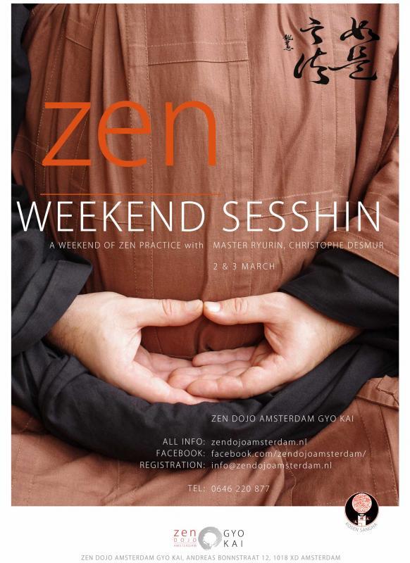Sesshin à Amsterdam, week-end de méditation zen